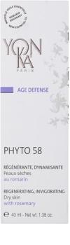 Yon-Ka Age Defense Phyto 58 creme de noite regenerador com ação renovadora para pele seca