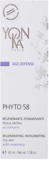 Yon-Ka Age Defense Phyto 58 regenerační noční krém s povzbuzujícím účinkem pro suchou pleť