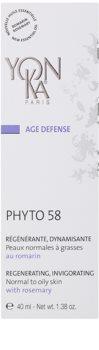 Yon-Ka Age Defense Phyto 58 creme de noite regenerador com ação renovadora para pele normal a oleosa