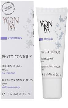 Yon-Ka Contours Phyto creme de olhos contra olheiras e inchaços