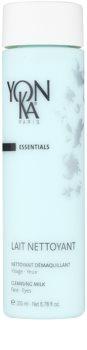 Yon-Ka Essentials leche desmaquillante limpiadora para rostro y ojos