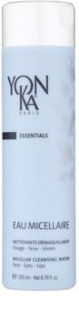 Yon-Ka Essentials reinigendes Mizellarwasser zum Abschminken