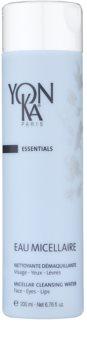 Yon-Ka Essentials reinigendes Mizellenwasser zum Abschminken
