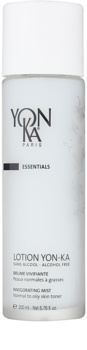 Yon-Ka Essentials spray revitalizante sin alcohol para pieles normales y grasas