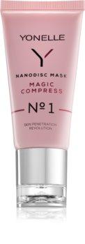 Yonelle Nanodisc Mask Magic Compress N° 1 maschera intensa per il miglioramento immediato dell'aspetto della pelle 40+
