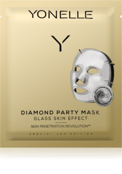 Yonelle Diamond Party Mask Moisturising and Revitalising Sheet Mask