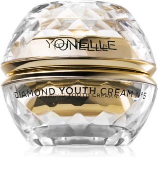Yonelle Diamond Youth Dag en Nachtcrème Hydraterende met Anti-Rimpel Werking  voor Gezicht en Oogcontouren