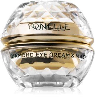 Yonelle Diamond Cream & Mask krémes maszk a szemkörnyékre a ráncok és a sötét karikák ellen