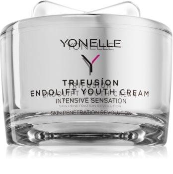 Yonelle Trifusíon hidratante lifting rejuvenescedor  para suavizar contornos do rosto