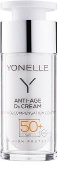 Yonelle Anti - Age D3 creme antirrugas de proteção SPF 50+