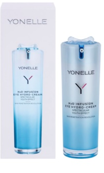 Yonelle H2O Infusion hydratisierende Augencreme gegen Falten und dunkle Augenringe