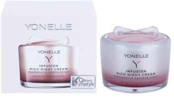 Yonelle Infusíon creme de noite nutritivo com efeito regenerador