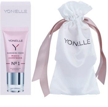 Yonelle Nanodisc Mask Magic Compress N° 1 azonnali hatású intenzív maszk az arcbőr tökéletlenségei ellen 40+
