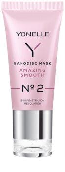 Yonelle Nanodisc Mask Amazing Smooth N° 2 máscara intensiva de noite para a regeneração rápida da pele seca e desidratada 40+