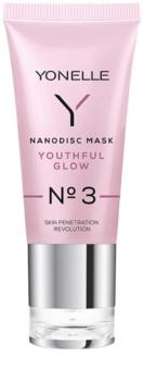 Yonelle Nanodisc Mask Youthful Glow N° 3 intenzívna gélová maska pre osvieženie pleti 40+