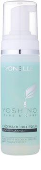 Yonelle Yoshino Pure&Care Mousse bio enzimático para uma limpeza profunda