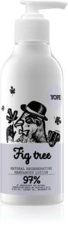 Yope Fig Tree leite regenerador para mãos e corpo