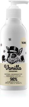 Yope Vanilla & Cinnamon leite hidratante para mãos e corpo