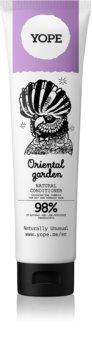 Yope Oriental Garden відновлюючий натуральний кондиціонер для сухого або пошкодженого волосся
