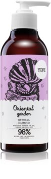 Yope Oriental Garden naravni šampon za suhe in poškodovane lase