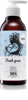 Yope Fresh Grass naravni šampon za mastne lase