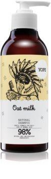 Yope Oat Milk naravni šampon za normalne lase brez sijaja