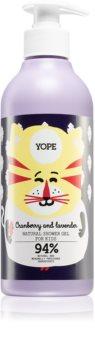 Yope Cranberry & Lavender Intensive Moisturizing Shower Gel for Kids