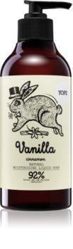 Yope Vanilla & Cinnamon рідке мило зі зволожуючим ефектом