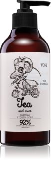 Yope Tea & Mint Natural Liquid Hand Soap with Smoothing Effect