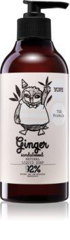 Yope Ginger & Sandalwood sabonete líquido natural com efeito alisador