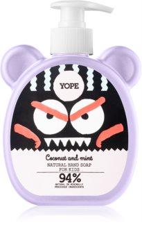 Yope Coconut & Mint tekoče milo za roke za otroke