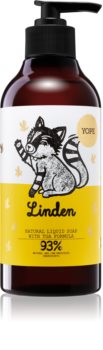 Yope Linden mydło w płynie o dzłałaniu nawilżającym