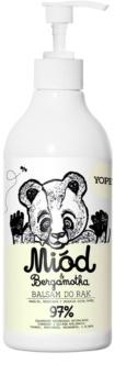 Yope Honey & Bergamot nawilżająca emulsja do rąk