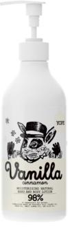 Yope Vanilla & Cinnamon lapte hidratant pentru maini si corp