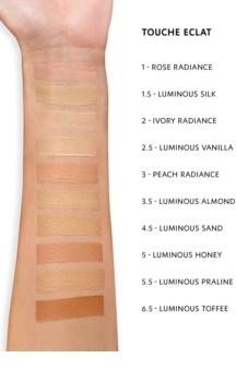 Yves Saint Laurent Touche Éclat correcteur pour tous types de peau