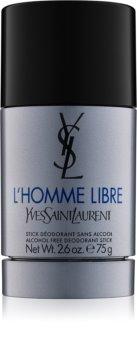 Yves Saint Laurent L'Homme Libre desodorizante em stick para homens 75 g
