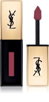 Yves Saint Laurent Vernis À Lèvres Glossy Stain hosszan tartó rúzs és ajakfény 2 az 1-ben