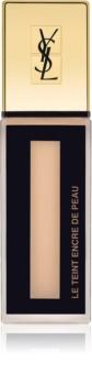 Yves Saint Laurent Le Teint Encre de Peau nežni matirajoči tekoči puder SPF 18