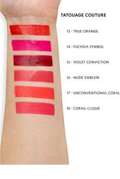 Yves Saint Laurent Tatouage Couture ultra matující tekutá rtěnka