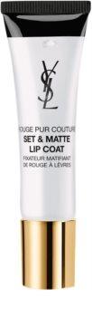 Yves Saint Laurent Rouge Pur Couture Set & Matte Lip Coat stabilizator szminki z matowym wykończeniem