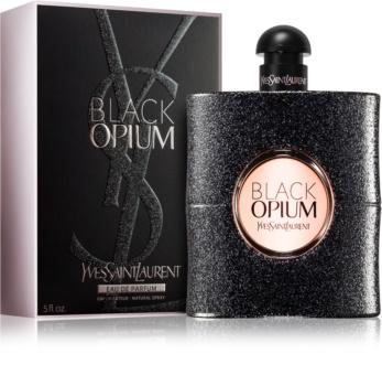 Yves Saint Laurent Black Opium eau de parfum para mulheres 150 ml