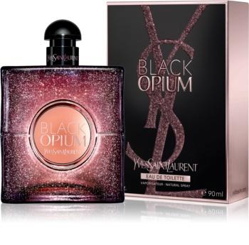 Yves Saint Laurent Black Opium Glowing eau de toilette para mulheres 90 ml