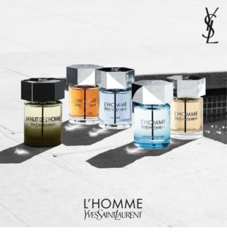 Yves Saint Laurent L'Homme Cologne Bleue eau de toilette para homens 100 ml