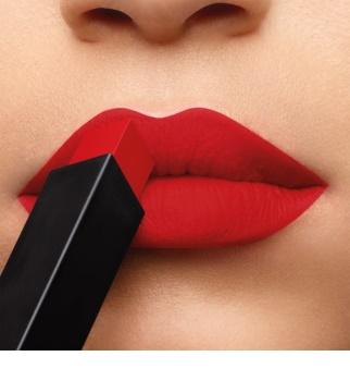 Yves Saint Laurent Rouge Pur Couture The Slim vékony mattító rúzs bőr hatással