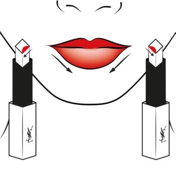 Yves Saint Laurent Rouge Pur Couture The Slim tanka matirajoča šminka z usnjenim učinkom