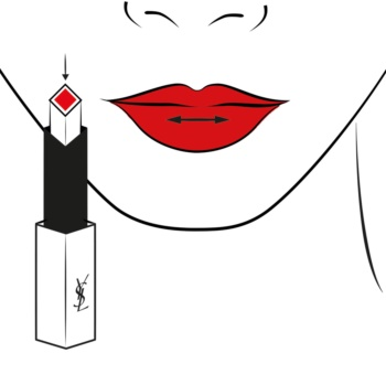 Yves Saint Laurent Rouge Pur Couture The Slim barra de labios de acabado cuero mate