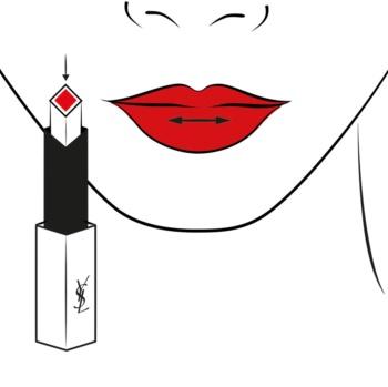 Yves Saint Laurent Rouge Pur Couture The Slim tanki matirajući ruž za usne s kožnim efektom