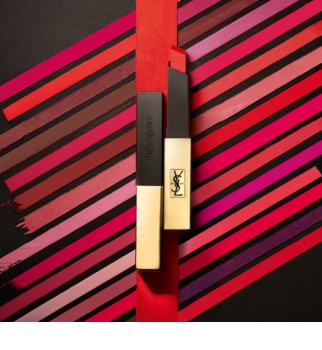 Yves Saint Laurent Rouge Pur Couture The Slim dünner, mattierender Lippenstift mit Ledereffekt