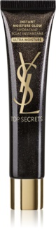 Yves Saint Laurent Top Secrets Instant Moisture Glow Ultra Moisture hydratačný a rozjasňujúci krém pre normálnu a citlivú pleť 4 v 1