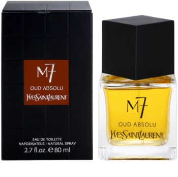 Yves Saint Laurent La Collection M7 Oud Absolu eau de toilette pentru barbati 80 ml